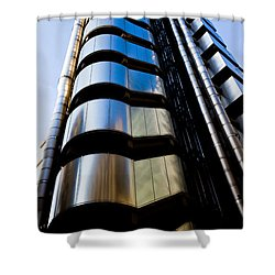 Lloyds Of London  Shower Curtain by David Pyatt