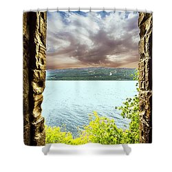 Loch Ness Shower Curtain