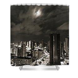 Long Exposure Shower Curtain by Cesar Vieira