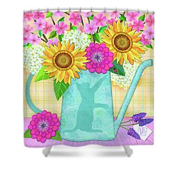 Looking For Spring Shower Curtain
