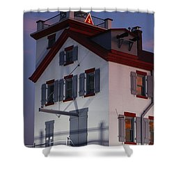 Lorain Lighthouse Shower Curtain