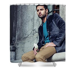 Lost Rose Shower Curtain