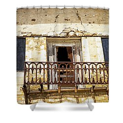 Lost To Time Shower Curtain