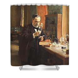 Louis Pasteur Shower Curtain