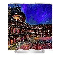 Louvre, Paris Shower Curtain