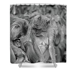 Love Shower Curtain by Cassandra Buckley
