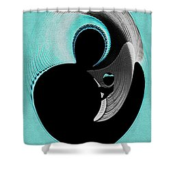 Love Is   Shower Curtain by Paula Ayers