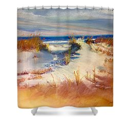 Lovers Key Shower Curtain