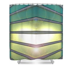 Luminous Corner Shower Curtain
