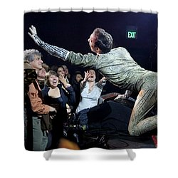 Lysol At Fifth Annual David Bowie Birthday Bash Shower Curtain