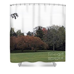 M Landscapes Fall Collection No. Lf68 Shower Curtain