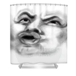 Magic Face Shower Curtain