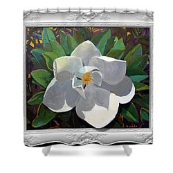 Magic Magnolia Shower Curtain