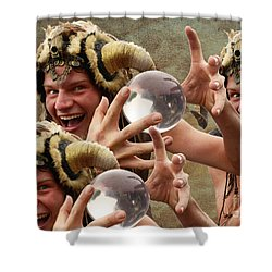 Magic Man Shower Curtain by Bob Christopher