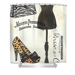 Maison De Mode 1 Shower Curtain