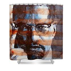 Malcolmx Shower Curtain