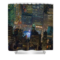 Manhattan Skyline 274 Shower Curtain