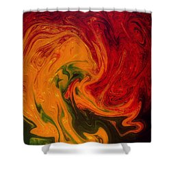 Marble Texture Shower Curtain