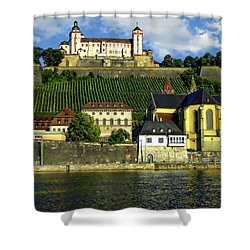 Marienberg Fortress Shower Curtain