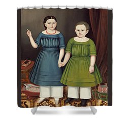 Mary And Francis Wilcox Shower Curtain
