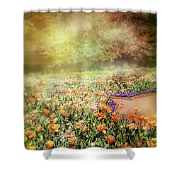 Shower Curtain featuring the photograph Masquerade by Diana Angstadt