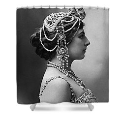 Shower Curtain featuring the photograph Mata Hari by Granger