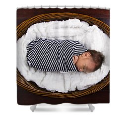 Max Shower Curtain by Marlo Horne