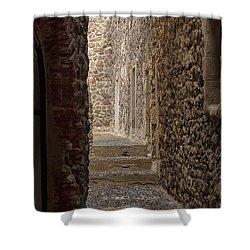 Medieval Street Shower Curtain
