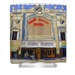 Memories Loews Paradise Bronx Shower Curtain by Gail Eisenfeld