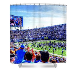Memphis Vs Ole Miss Football Game October 17th 2015 Shower Curtain