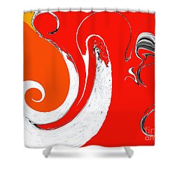Liquid Wonders Shower Curtain