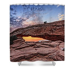 Mesa Arch At Sunrise Shower Curtain