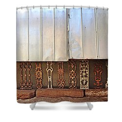 Metal And Ironwork  Shower Curtain