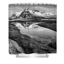 Mirror Shower Curtain