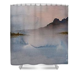 Mist Shower Curtain by Annemeet Hasidi- van der Leij