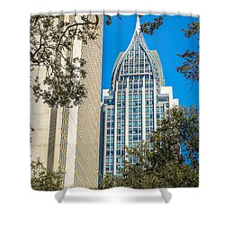 Shower Curtain featuring the photograph Mobile Shines by Julie Andel