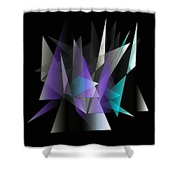 Modern 3 Shower Curtain