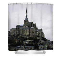 Mont St Michel Shower Curtain
