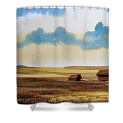 Montana Landscape Shower Curtain by Kevin Heaney
