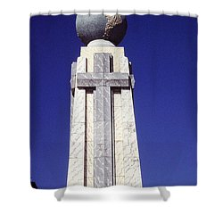 Monumento Al Divino Salvador Del Mundo Shower Curtain