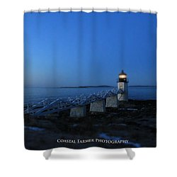 Morning Colors Shower Curtain