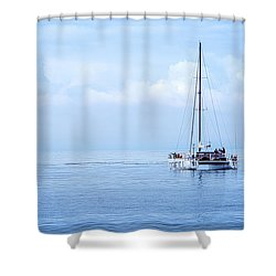 Morning Sail Shower Curtain