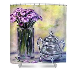 Morning Splendor Shower Curtain