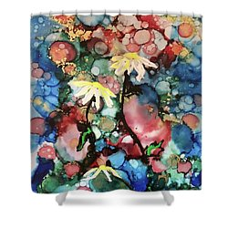 Shower Curtain featuring the painting Mothers Day by Denise Tomasura
