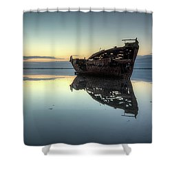 Motueka Sunrise 1 Shower Curtain