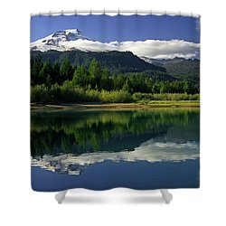 Mount Baker Shower Curtain