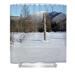 Mount Carrigain - White Mountains New Hampshire Usa Shower Curtain by Erin Paul Donovan