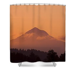 Mount Hood, Oregon, Usa Shower Curtain by Craig Tuttle