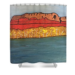 Mount Mckay Shower Curtain
