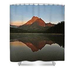 Mount Wilbur, Glacier National Park Shower Curtain